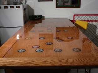 Clear Epoxy Resin Table Top