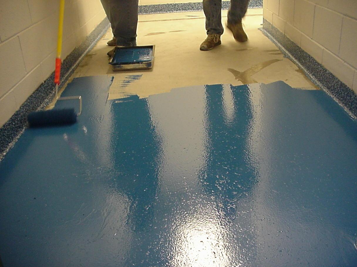 Chips Flooring Flake Flooring