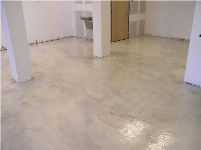 Epoxy.com Product #15 over stained Concrete